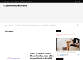 customerhelpnumbers.com