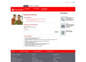 customerservice.santanderbank.com