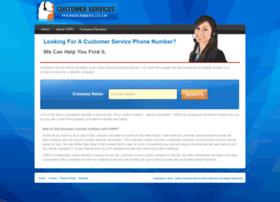 customerservicephonenumbers.co.uk