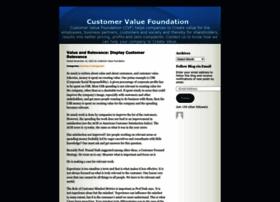 customervaluefoundation.wordpress.com