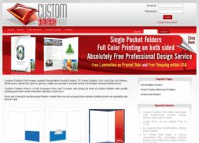 Customfoldersprint.com