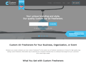 customfresheners.com
