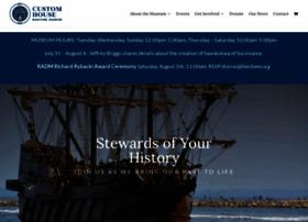 customhousemaritimemuseum.org