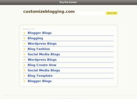 customizeblogging.com