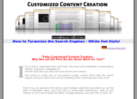 customizedcontentcreation.com