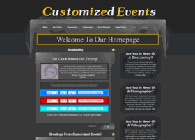 customizedevents.com