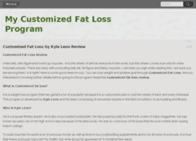 customizedfatlossprogram.net