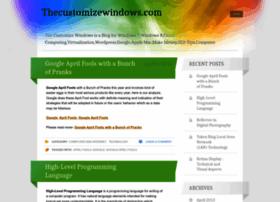 customizewindow.wordpress.com