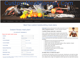 custommealplanner.com