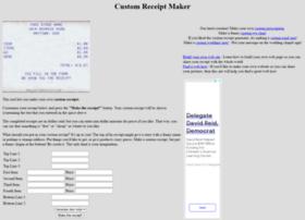customreceipt.com