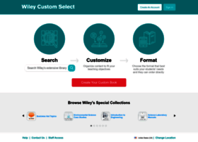 customselect.wiley.com