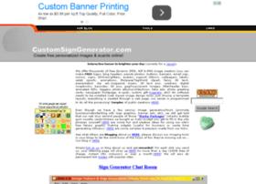 customsigngenerator.com