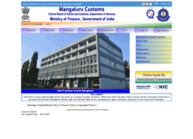 customsmangalore.gov.in