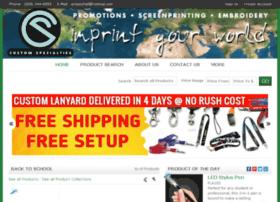 customspecialtiespromos.espwebsite.com