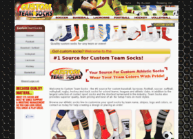 customteamsocks.com