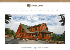 customtimberloghomes.com
