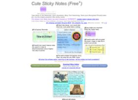 cutestickynotes.com