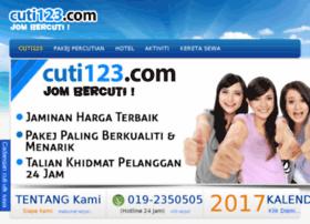 cuti123.com