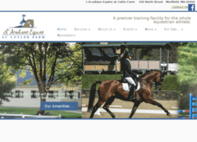 cutlerfarmdressage.com