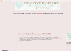 cutter.creativebusybee.com