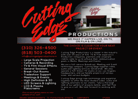 cuttingedgeproductions.tv