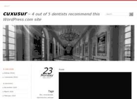 cuxusur.wordpress.com