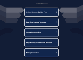 cv-motion.com