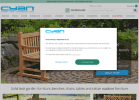cyan-teak-furniture.com