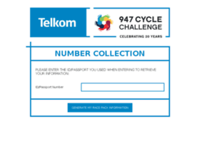 cyclechallengenumbercollection.co.za