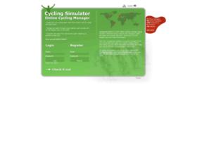 cyclingsimulator.com