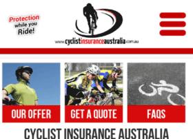 cyclistinsuranceaustralia.com.au