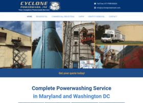 cyclonepowerwash.com