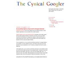 cynicalgoogler.blogspot.com