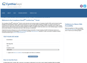 cynthiasays.com