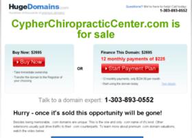 cypherchiropracticcenter.com