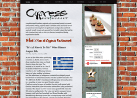 cypressrestaurant.com