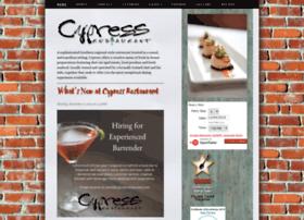 cypressrestaurant.squarespace.com