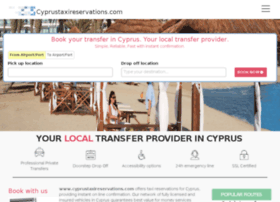 cyprustaxireservations.com