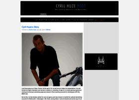 cyrilhuzeblog.com