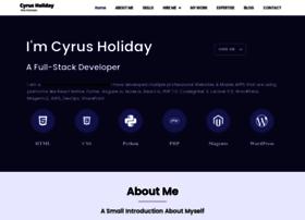 cyrusholiday.com