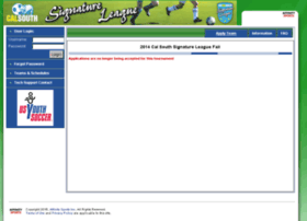 cysa-2014fallsignature.affinitysoccer.com