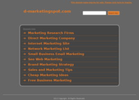 d-marketingspot.com