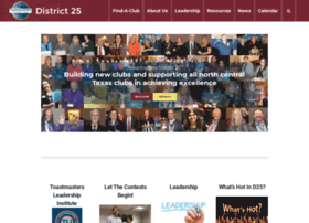 d25toastmasters.org