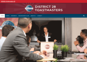 d28toastmasters.org