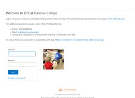 d2l.canisius.edu