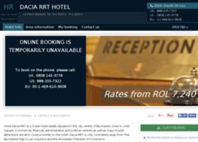 dacia-rrt-bucharest.hotel-rez.com
