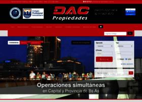 dacpropiedades.com.ar