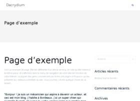 dacrydium.fr