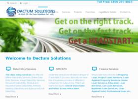 dactumsolutions.com