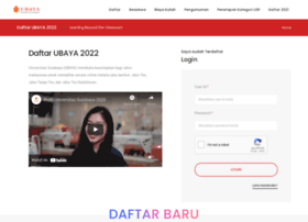 daftar.ubaya.ac.id